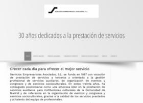 serviciosempresarialesasociados.es