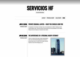 servicioshf.com