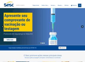 sesc-es.com.br