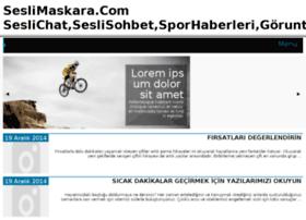 seslimaskara.com