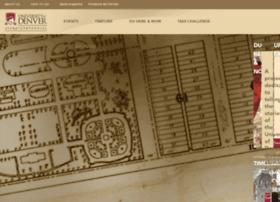 sesquicentennial.du.edu