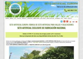 setoartificialeuropa.com