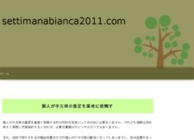 settimanabianca2011.com