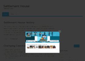 settlement-house.com
