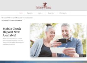 settlersbank.com