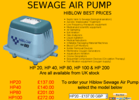 sewageairpump.com