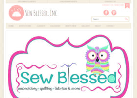 sewblessedfabric.com