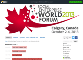 sewf2013.sched.org