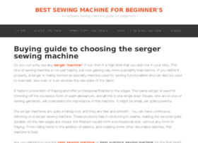 sewingmachinebeginners.com