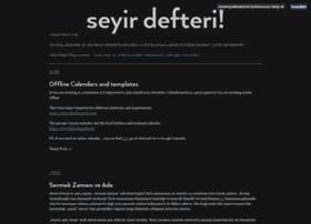 seyirdefteri.osmanyueksel.com