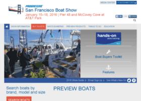 sfboatshow.com