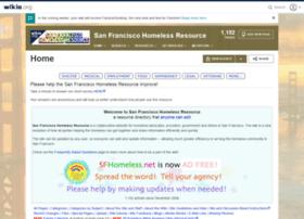 sfhomeless.wikia.com