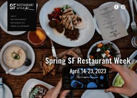sfrestaurantweek.com