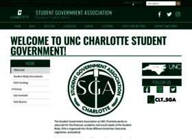 sga.uncc.edu