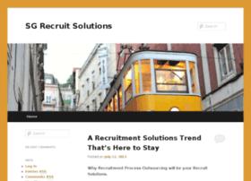 sgrecruitsolutions.org