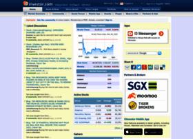 sgx.i3investor.com