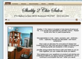 shabby2chicsalon.com