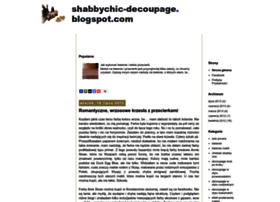 shabbychic-decoupage.blogspot.com