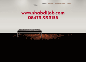 shabdijobs.webs.com