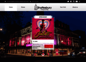 shaftesburytheatre.com
