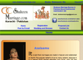 shaheenmarriage.com