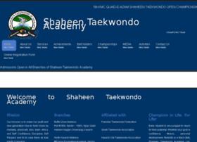 shaheentaekwondoacademy.com