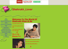 shahrukhkhan12.tripod.com