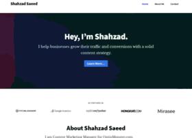 shahzadsaeed.com