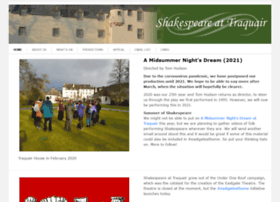 shakespeare-at-traquair.co.uk