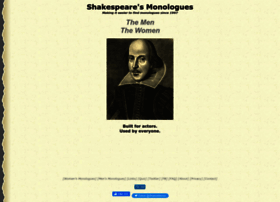 shakespeare-monologues.org