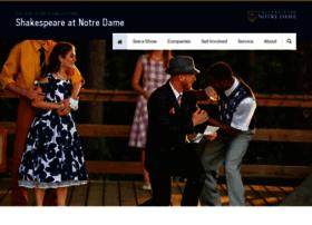 shakespeare.nd.edu