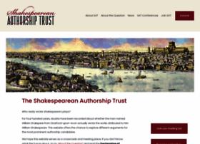 shakespeareanauthorshiptrust.org.uk