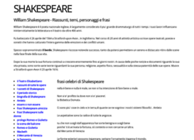 shakespeareinitaly.it