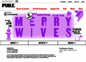 shakespeareinthepark.org