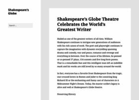 shakespeares-globe.org
