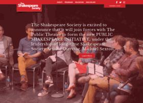 shakespearesociety.org