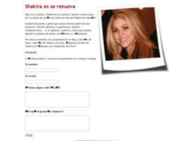 shakira.es