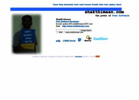 shakthimaan.com
