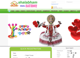 shalabhammatrimony.com