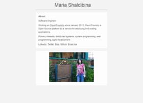 shaldybina.com