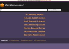 shamsitservices.com