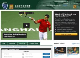 shanghairolexmasters.tennistv.com