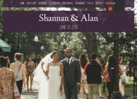 shannanandalan.weddingwoo.com