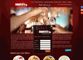 shantascatering.com