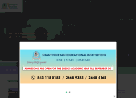 shantiniketan.edu.in