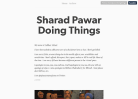 sharadpawardoingthings.tumblr.com