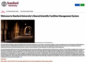 sharedfacilities.stanford.edu