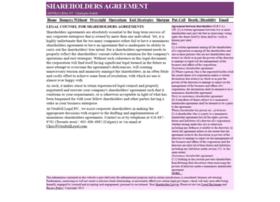 shareholdersagreement.ca