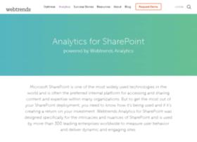 sharepoint.webtrends.com