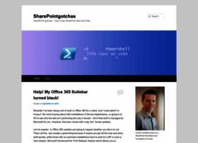 sharepointgotchas.wordpress.com